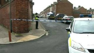 Police are carrying out house-to-house inquiries