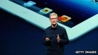 Tim Cook unveils the latest iPad