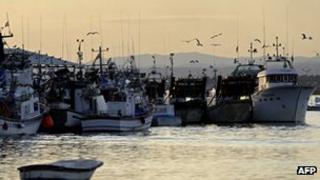 Isla Cristina harbour, south of Spain - file pic