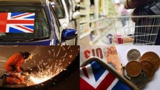 UK economy pictures