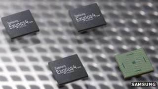 Exynos 4 Quad chips