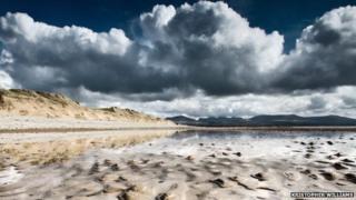 Newborough Sands by Kristopher Williams
