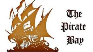 The Pirate Bay screenshot