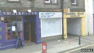 Whispers Lounge Bar on Tranent High Street Pic: Google
