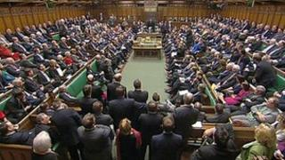 Chamber of House of Commons