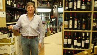 Jon Genderson, managing director of wine shop Schneider's of Capitol Hill
