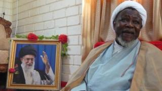 Sheikh Zakzaky, leader of the Islamic Movement in Nigeria