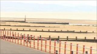 Rhyl seafront