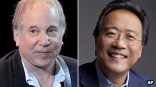 Paul Simon and Yo-Yo Ma