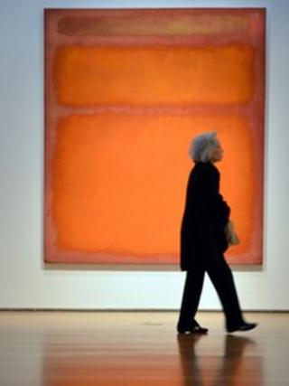 Orange, red, yellow by Mark Rothko