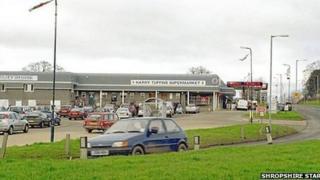 Harry Tuffins in Churchstoke, Powys