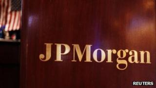JPMorgan sign