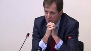 Alastair Campbell at the Leveson Inquiry