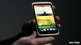 HTC One smartphone