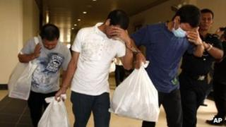 Three Mexicans sentenced to death in Malaysia