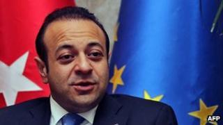 Turkish European Affairs Minister Egemen Bagis, 11 May 12