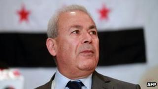 SNC leader Burhan Ghalioun. Photo: April 2012
