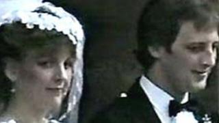 Arlene and Nat Fraser's wedding