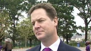 Nick Clegg in Cornwall