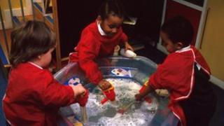 Nursery school class