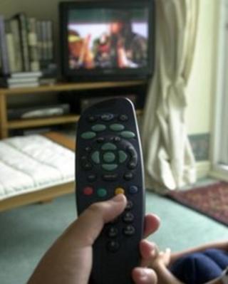 Remote control and TV