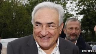 Dominique Strauss-Kahn, 7 May 2012