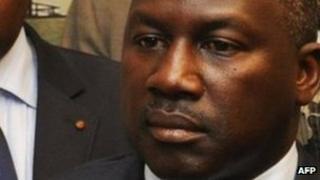 Adama Bictogo (r) of Ivory Coast