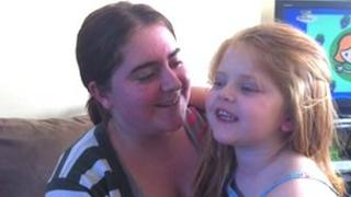Katie Ogle has spoken about life with her daughter, Mary