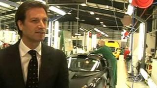 Group Lotus chief executive Dany Bahar