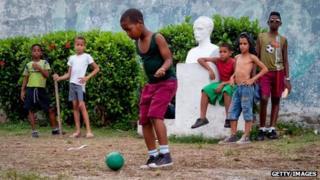 Cuban children