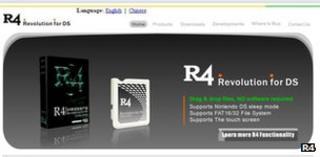 R4 screenshot
