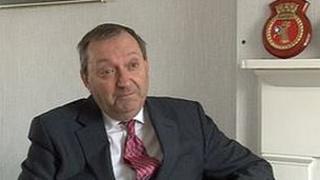 Senator Ian Le Marquand