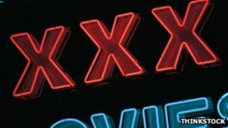 XXX sign