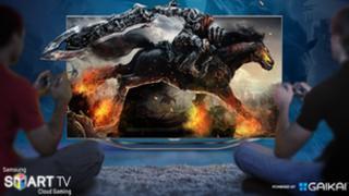 Samsung Gaikai promotional image