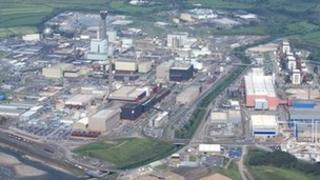 The Sellafield Nuclear Plant