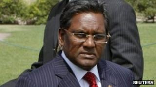 Maldives' President Mohamed Waheed Hassan Manik in Delhi, May 2012.