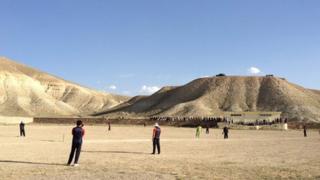 Cricket match at Khake Jabar