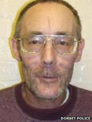 Geoffrey Reed picture released by Dorset Police