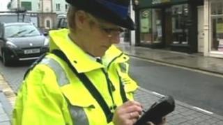 A civil enforcement officer