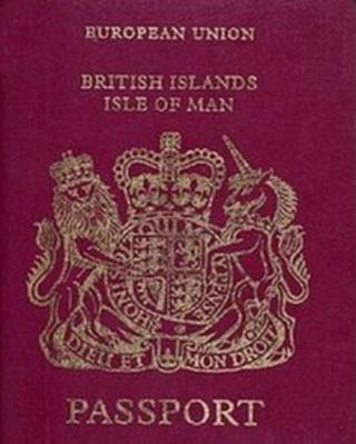 Isle of Man Passport