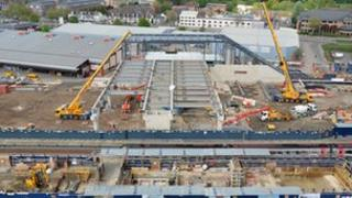 Reading station's £850m rebuilding project