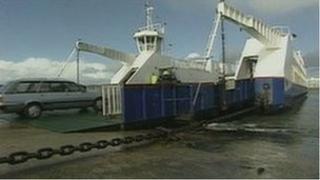 Sandbanks chain ferry