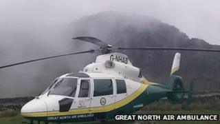 The Great North Air ambulance