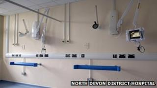 Caroline Thorpe Ward (pic: North Devon District Hospital)