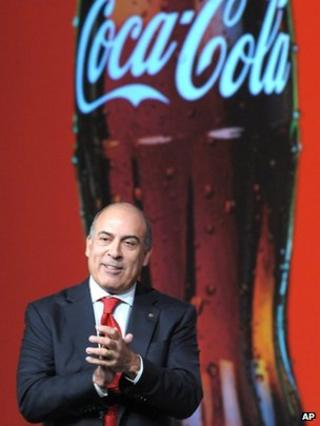 Muhtar Kent, chief executive, Coca-Cola