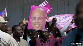 Martelly's supporters