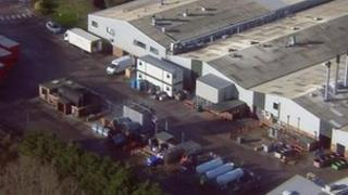 Bernard Matthews plant in Holton, Suffolk