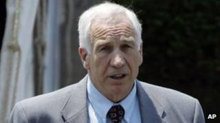 Jerry Sandusky, Bellefonte, Pennsylvania 21 June 2012