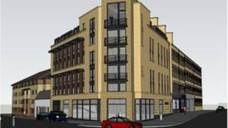 Planned student residence in Argyle Street Glasgow