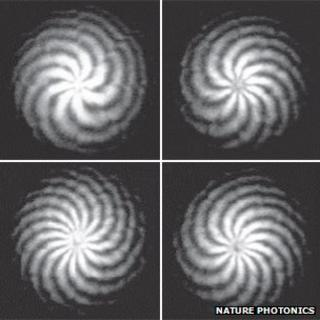 """Images of the phase of """"twisted"""" light"""